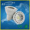 Het LEIDENE van het Aluminium van Dx0515 GU10/COB/5W/AC220-240 Licht van de Vlek