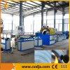 Línea reforzada fibra máquina de la protuberancia del tubo del PVC de la producción del manguito de jardín