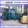 Alta stanza di scoppio della sabbia di Effiency usata per i grandi pezzi in lavorazione con il collettore di polveri