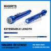 Teleskopisches Magnetic LED Flashlight mit Magnet
