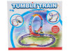 Brinquedo plástico ajustado Railway do trem elétrico do trem do B/O (H6252003)
