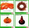 De Decoratie van Halloween van de Slinger van het Klatergoud