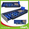 Projetar o parque retangular interno do Trampoline