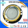Luz elevada do diodo emissor de luz da baía da lâmpada 2016 industrial