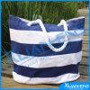 Saco feito sob encomenda amigável da lona da planície da forma do saco do algodão de Eco