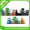 Magnete di gomma su ordinazione promozionale del frigorifero di stampa di colore dei regali di buona qualità