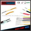 Awm 14AWG UL3122 Glasfaser-umsponnener elektrischer Hochtemperaturdraht