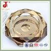 Cenicero de cristal del oro para el uso del hotel (JD-CA-205)