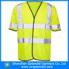 Vest Goedkope Workwear van de Veiligheid van het Zicht van de douane het Hoge voor Mensen