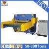 Los materiales cubren con cuero, caucho, tela, máquina de la película del corte de la alfombra (HG-B60T)
