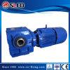 Serie-Getriebe 90 Grad-Antriebswelle-Getriebemotor-schraubenartiges Wurm-Getriebe-Bewegungslaufwerk