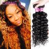 Weave человеческих волос способа итальянский курчавый, бразильское выдвижение волос девственницы