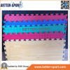 Деревянный половой коврик ЕВА картины, циновка головоломки ЕВА в деревянном цвете зерна
