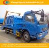 Camion di immondizia idraulico del braccio dell'oscillazione di Dongfeng 4*2