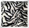 Pelliccia di /Faux della pelliccia artificiale della zebra del jacquard