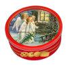 Alimento Grade Metal Tin de 4oz Butter Cookies Biscuit