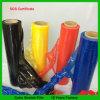 Película de estiramiento de los colores LLDPE/abrigo de la paleta