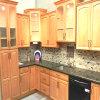Neue klassische Küche-Schrank-festes Holz-Küche-Geräten-Küche-Möbel