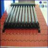 coletor térmico solar da tubulação de calor do aço inoxidável do telhado 250L