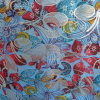 Oxford 600d fleurit le tissu de polyester d'impression (XL-D7008-1)