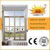 安全内部の防水ガラスシャワーのドア(SC-AAD065)