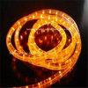 La fabricación IP65 impermeabiliza la luz horizontal redonda de la cuerda de 3 alambres LED