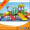 Campo de jogos ao ar livre dos vários miúdos plásticos comerciais com baixo preço