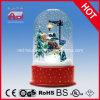 2015 fashional muñeco de nieve decoración LED Globo de la nieve