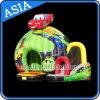 Chambre gonflable personnalisée par château sautante de château de véhicule de gosses d'amusement gonflable de disco