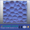 Sound forte - Performance de absorção Polyester Fiber 3D Interior Panels