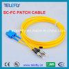 Cavo ottico della fibra di singolo modo Sc-FC