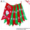 6PCS Christmas Decoration String Flag