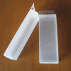 Plástico del PVC que dobla la caja de embalaje clara transparente