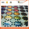 Populärer Entwurfs-selbstklebender Metallpapier PVC&Pet Kennsatz-Drucken-Aufkleber