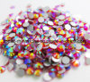 Nailart (FB SS12/Orange AB)를 위한 비 고품질 Ab 결정 Hotfix 모조 다이아몬드