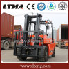 Forklift hidráulico manual do diesel do Forklift 5t de Ltma
