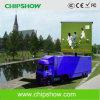 Diodo emissor de luz móvel ao ar livre da cor cheia de Chipshow P16 que anuncia quadros de avisos
