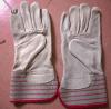 Перчатки Cowgrain работая для промышленного