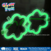 Multi Color Glow Sticks Shamrock Shaped Glasses Licht Partei-Feiertag