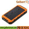 Bateria de polímero de lítio impermeável RoHS Carregador de celular solar Banco de energia