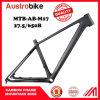 Estrutura de bicicleta de MTB de carbono completo, quadro de bicicleta
