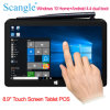 Doppelaufladungs-Tablette Positions-System Windows-10 Home+Android 4.4