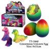 Nuevo juguete divertido del huevo del unicornio de Ginormouns