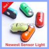 가벼운 운동 검출기 센서 램프가 소형 자동 운동 측정기에 의하여 탐지 점화한다