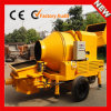Hbt2008-Jzc350 Flexible Maneuverability Portable Diesel Mixing Concrete Pump com max Output 15m3/H