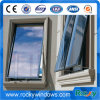Ventana de aluminio esmaltada doble termal del toldo del vidrio laminado de la rotura