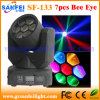 Étape Zoom Light 4in1 Mini Bee Eyes DEL Moving Head