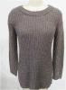 Acryl-Damen/Frauen des 50% Polyester-50%, die Strickjacke stricken