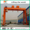 Hook를 가진 원격 제어 Single Beam Gantry Crane