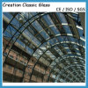 vlakke 6mm20mm/Neiging Gelamineerd Glas met CCC